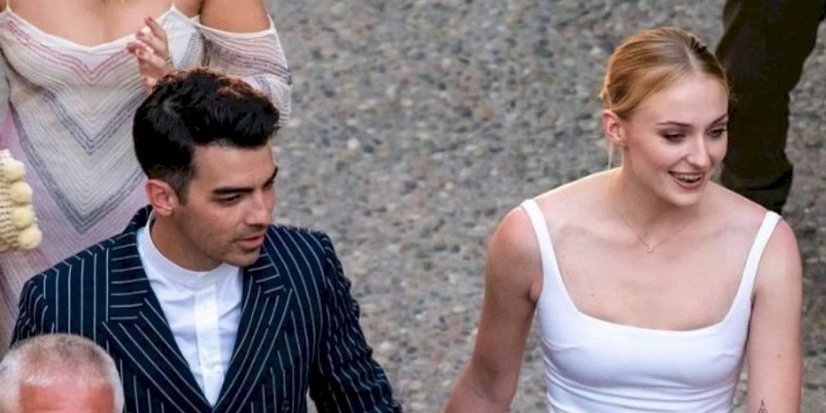 Salen a la luz las primeras imágenes de la boda de Joe Jonas y Sophie Turner