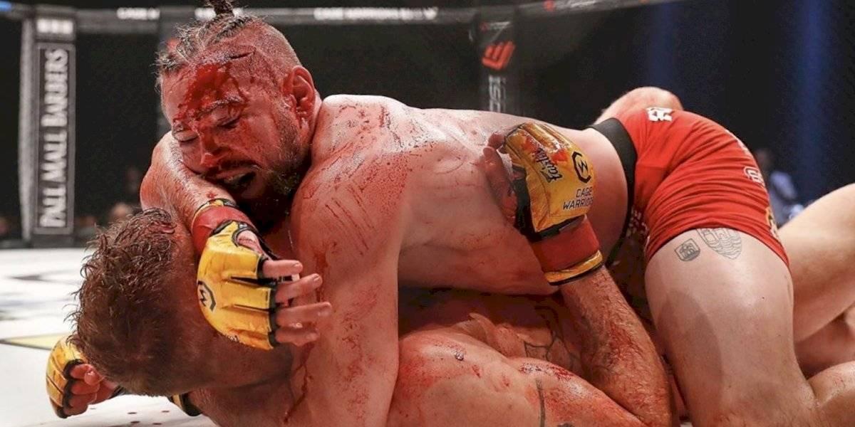 Suspenden pelea de artes marciales mixtas por exceso de sangre