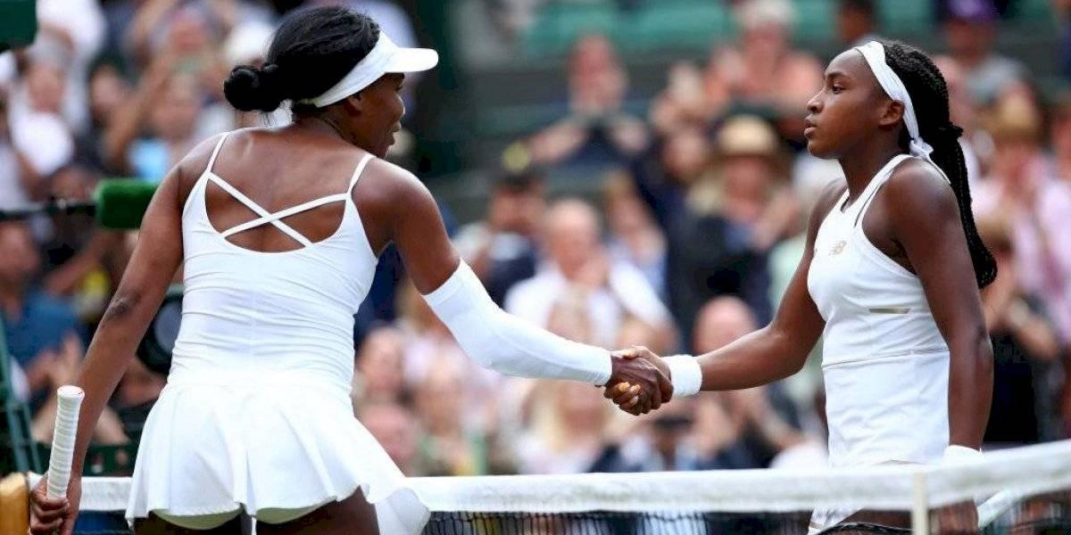 Venus Williams es eliminada por quinceañera en primera ronda de Wimbledon