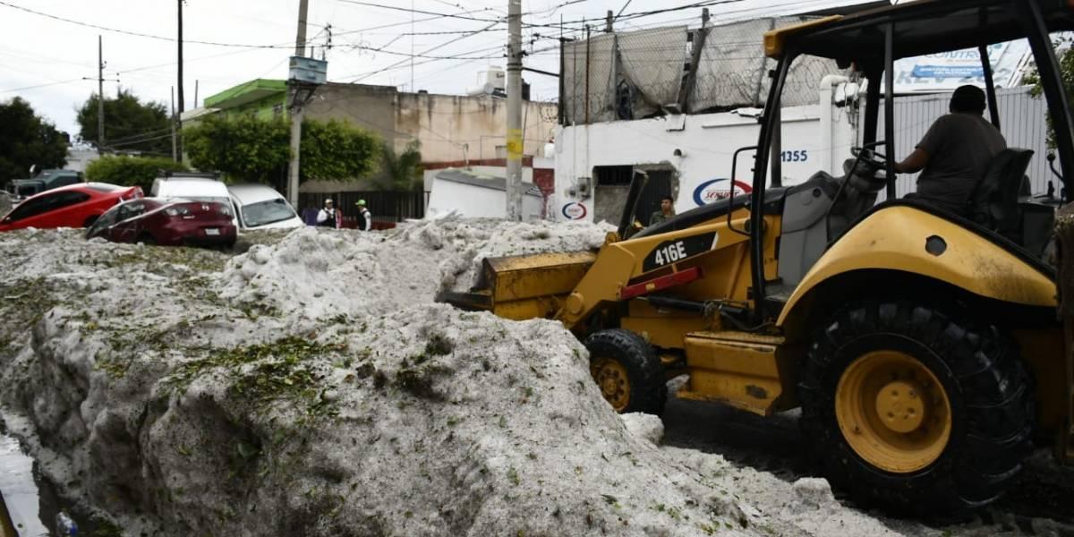 Llega la ayuda económica para los damnificados de la granizada en Guadalajara