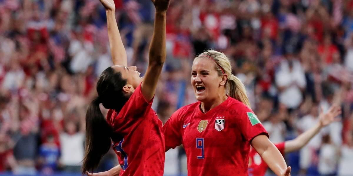Copa feminina: Sem Rapinoe, EUA derrotam Inglaterra e vão tentar 4º título mundial