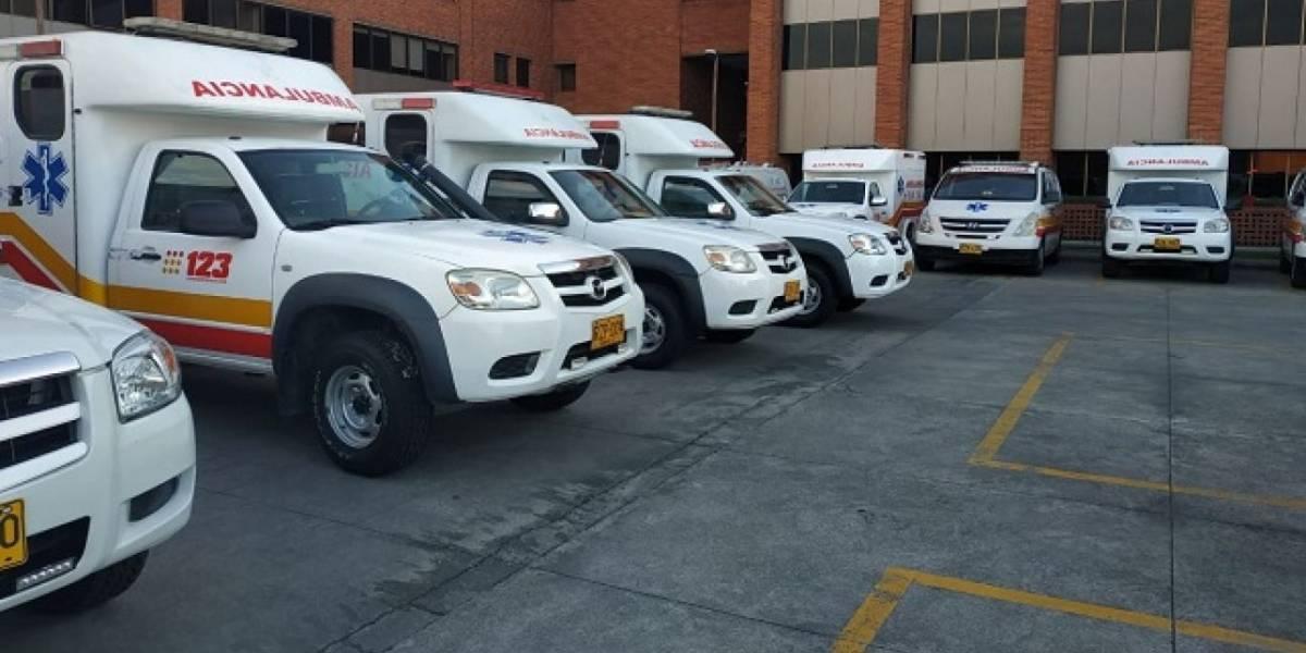 Pondrán en cintura el servicio de ambulancias en Bogotá