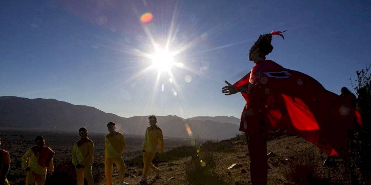Decenas de miles esperan el eclipse solar en Chile
