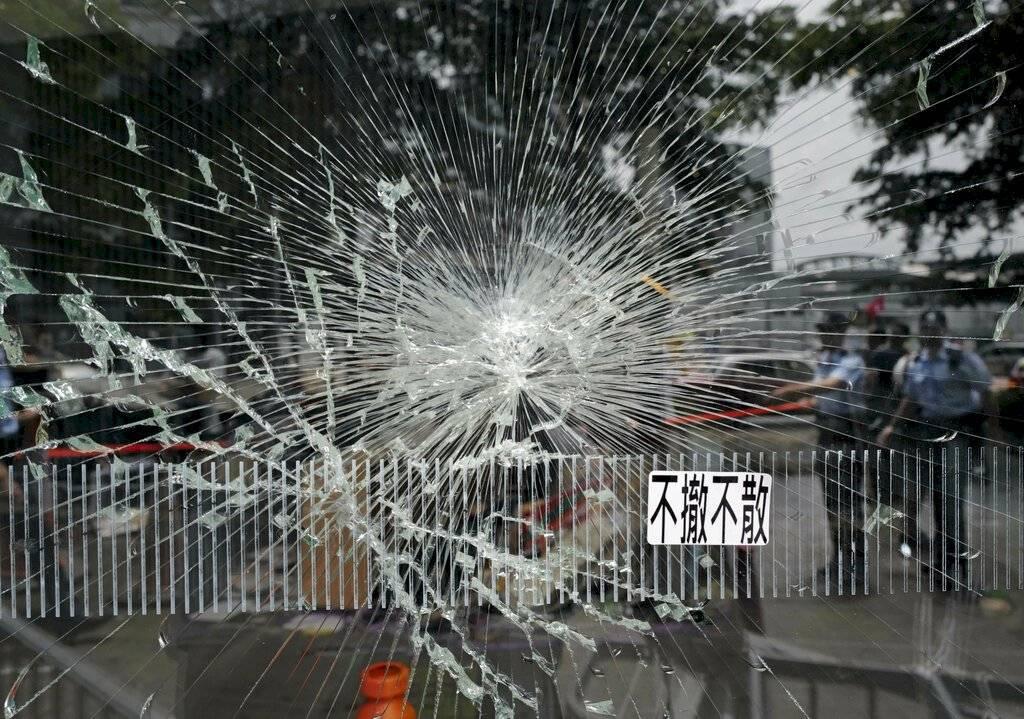 Manifestaciones en Hong Kong Foto: AP