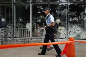 Manifestaciones violentas en Hong Kong