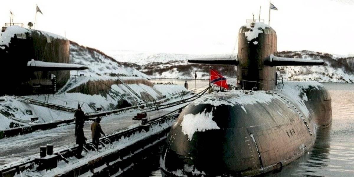Mueren 14 marineros rusos tras fuego en submarino
