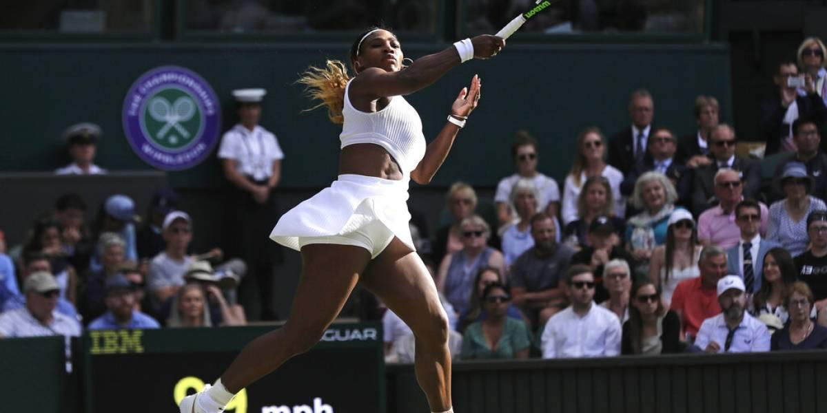 Serena Williams a cuartos de final por 14ta vez seguida en Wimbledon