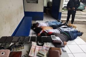 asaltabuses capturados en ruta a Santa Elena Barillas