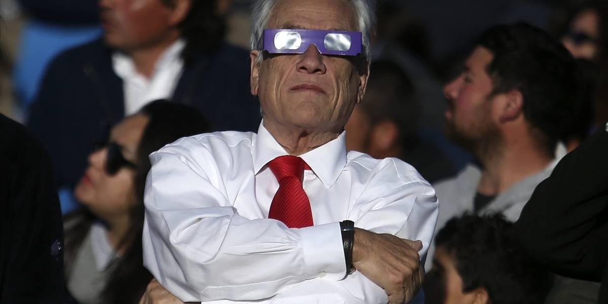 Políticos en modo eclipse: así vivieron el fenómeno las autoridades