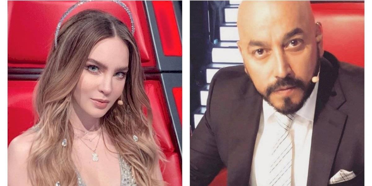 Lupillo Rivera se tatuó la cara de Belinda en el brazo