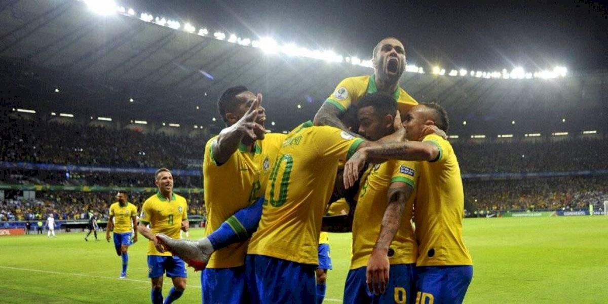 Brasil elimina a Messi y a Argentina de la Copa América