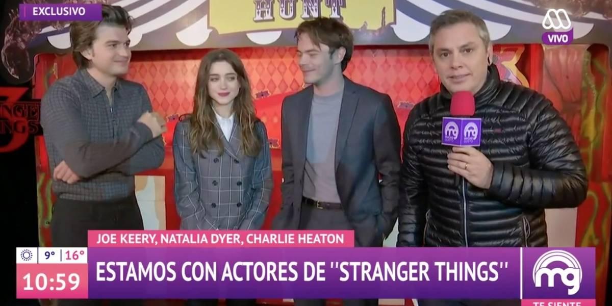 """José Miguel Viñuela se llenó de críticas por entrevista a protagonistas de """"Stranger Things"""" en """"Good Taste"""""""