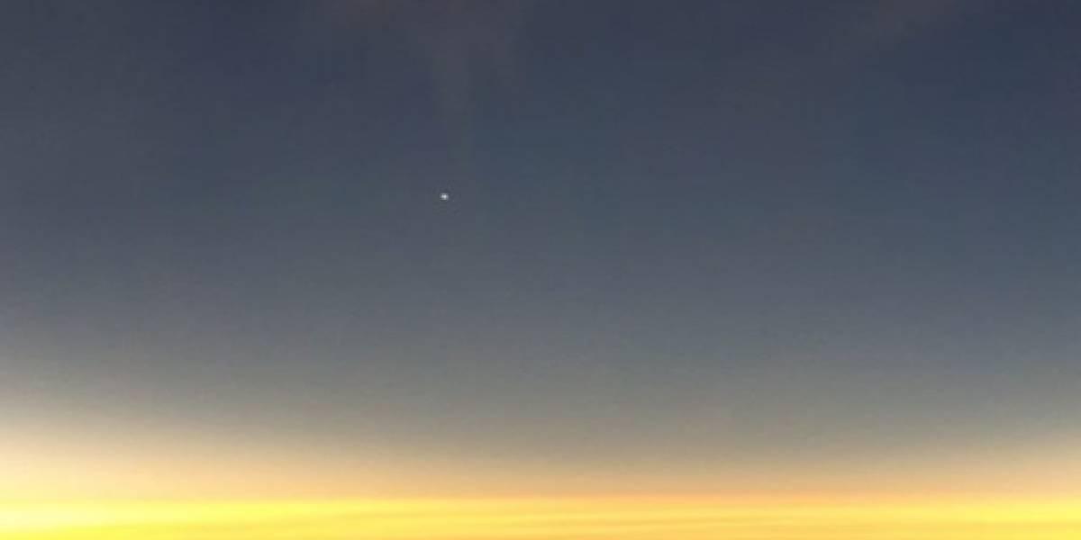 Oscuridad total a 39 mil pies de altura: Viaje directo al eclipse