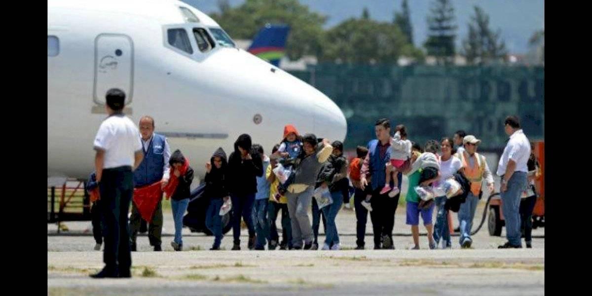 Mundo: Guatemala espera a migrantes devueltos por Estados Unidos