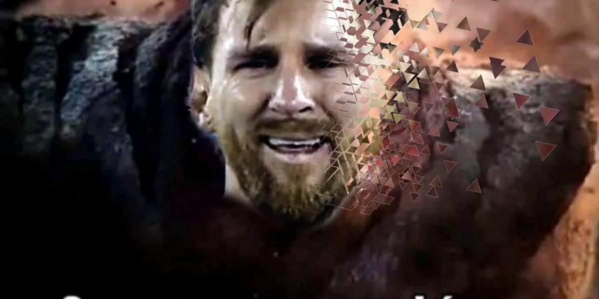 FOTOS. Los despiadados memes contra Messi luego de perder ante Brasil