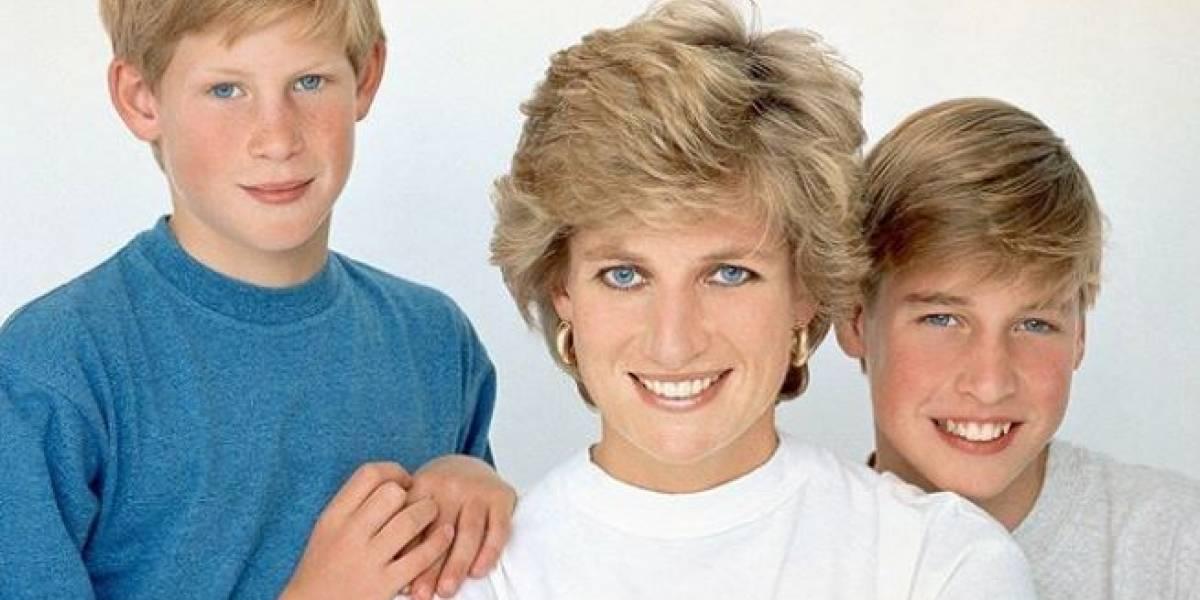 El triste momento en el que el príncipe William hizo llorar a la princesa Diana