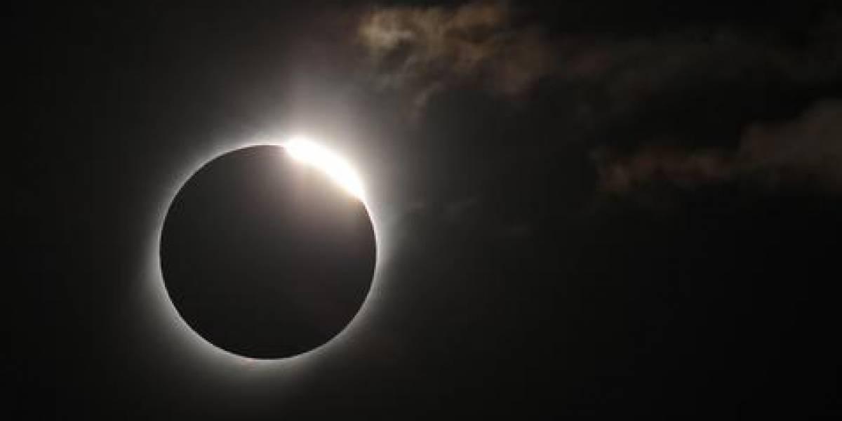 El eclipse que detuvo a Chile