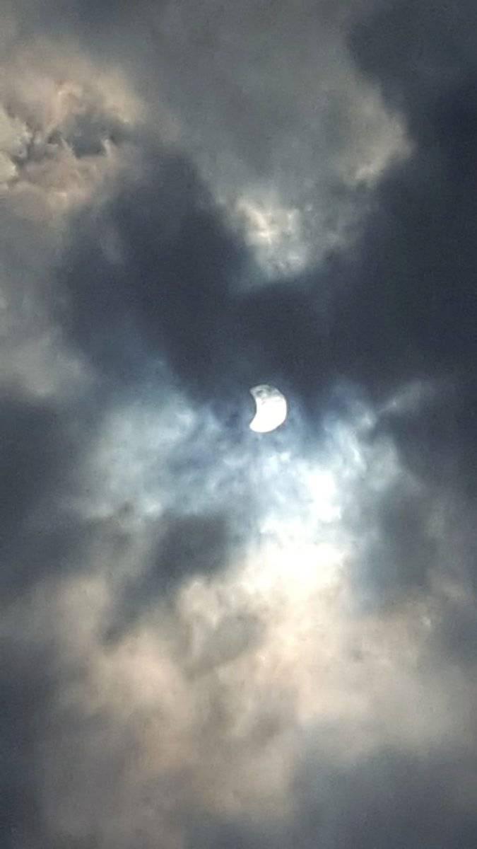 Eclipse solar en Ecuador Captura de pantalla