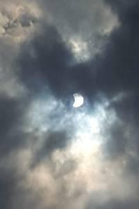 Eclipse solar en Ecuador