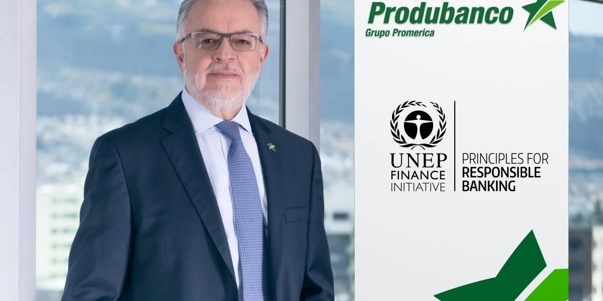 Produbanco anuncia su respaldo a los Principios de Banca Responsable de la ONU