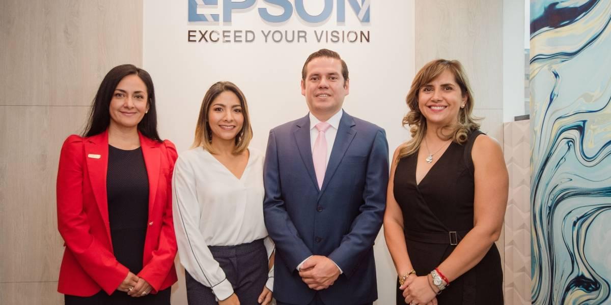 Epson inaugura showroom en Ecuador