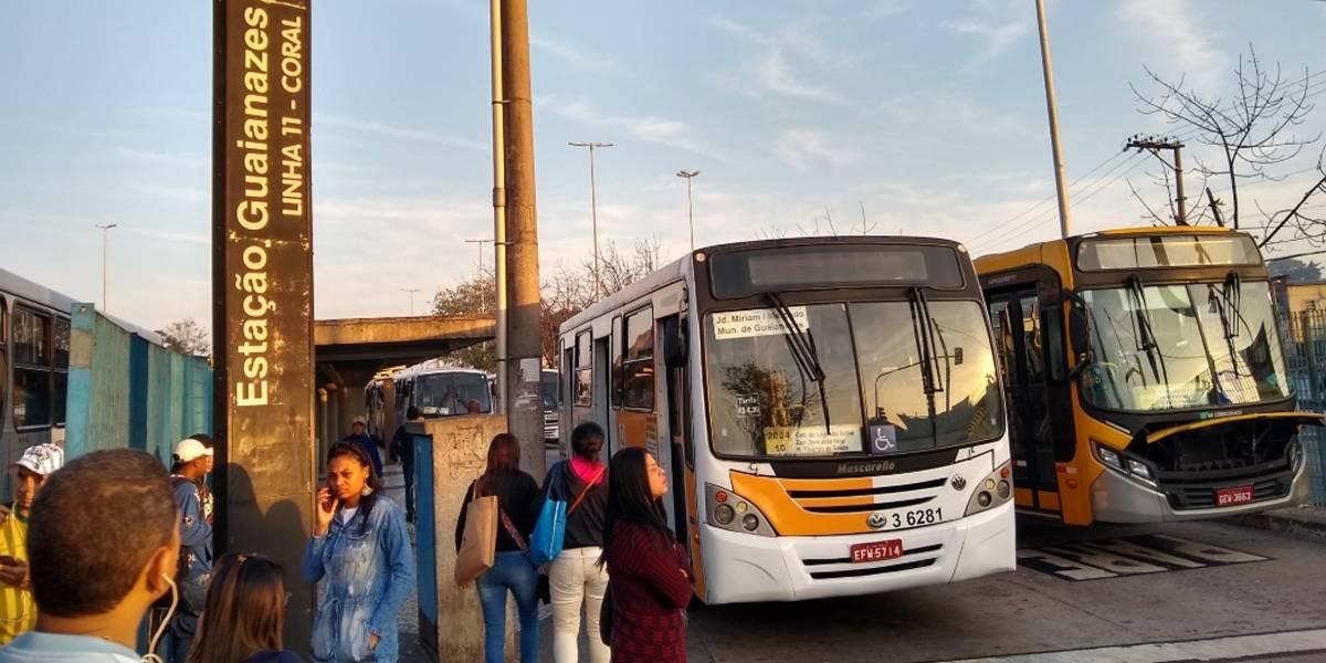 Paralisação de motoristas afeta 15 linhas de ônibus na zona leste de SP