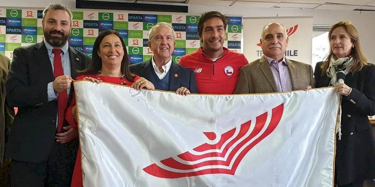 Felipe Miranda será el abanderado de Chile en los Juegos Panamericanos de Lima 2019