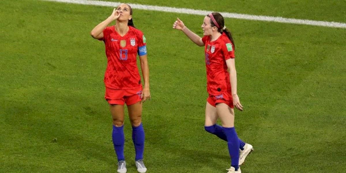 Van por más copas: Estados Unidos se convierte en la primer finalista del Mundial Femenino
