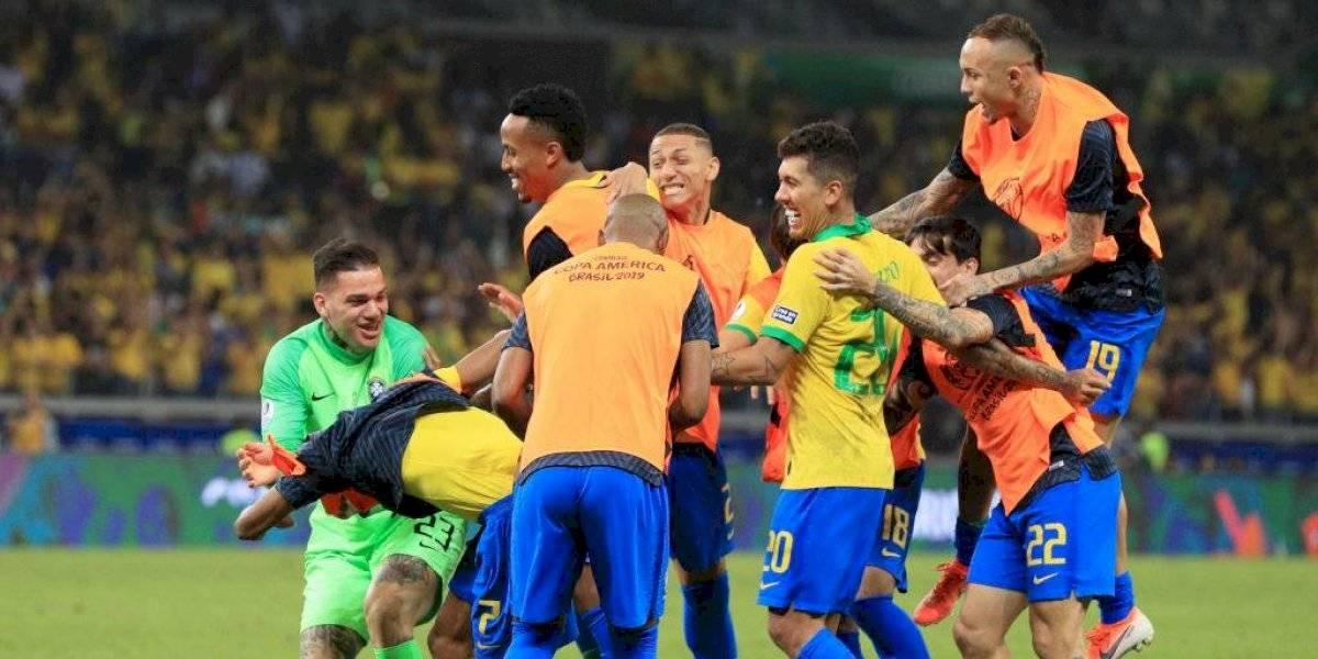 Brasil vuelve a una final continental después de 12 años cuando fue bicampeón de Copa América