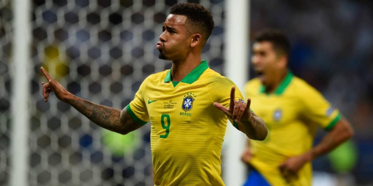 Gabriel Jesús, el crack que metió a Brasil en la final de Copa América 2019
