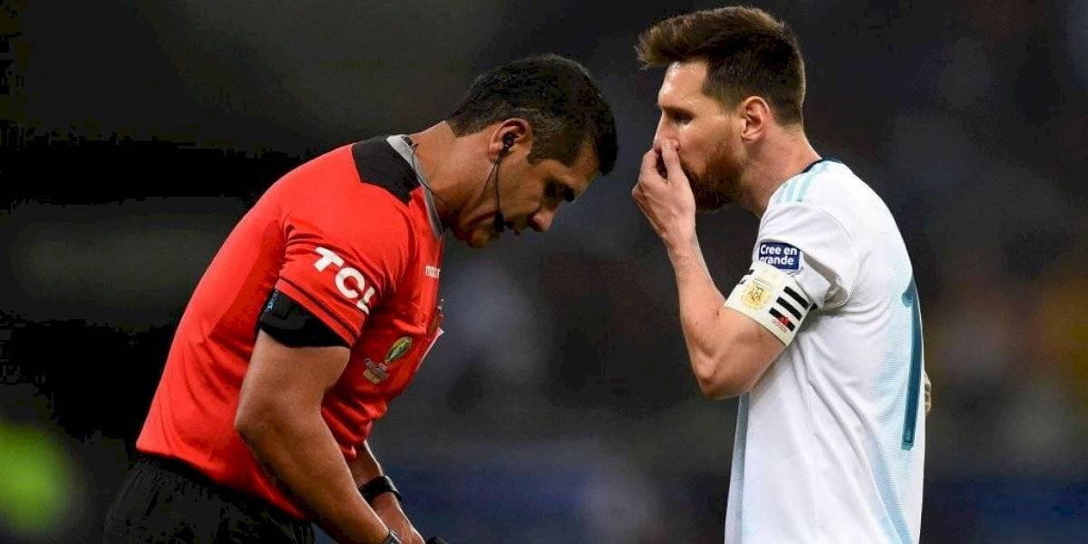 """Messi explotó contra el arbitraje, el VAR y la Conmebol: """"Espero que hagan algo, pero no creo, maneja todo Brasil"""""""