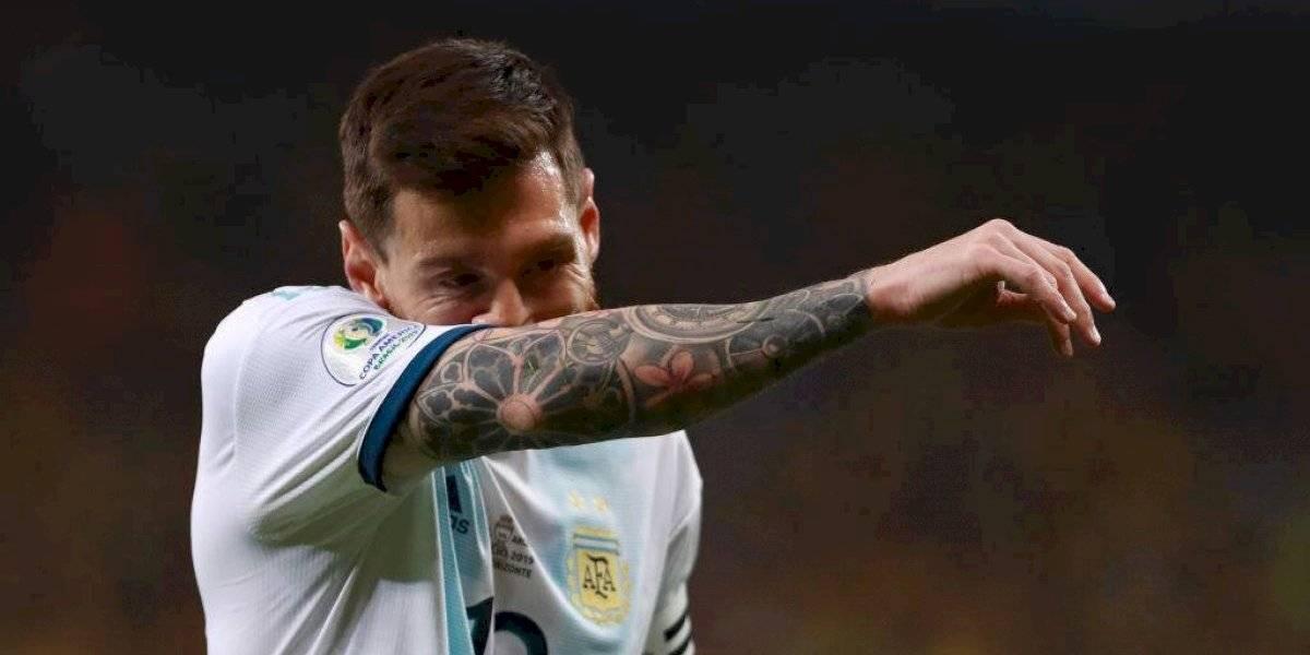 El calvario de Messi en la selección de Argentina sumó otra frustración más