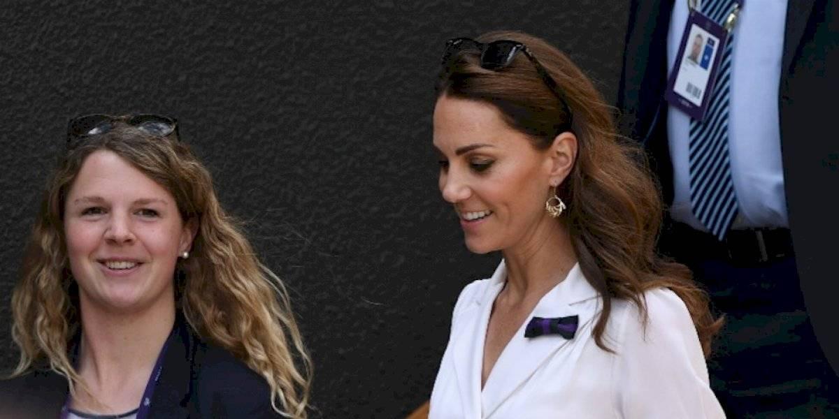 "Kate Middleton ""rompe las reglas"" y es protagonista en Wimbledon"