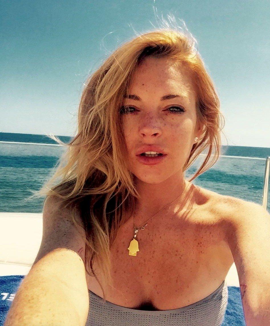 Lindsey mostró su lado más sexy Instagram