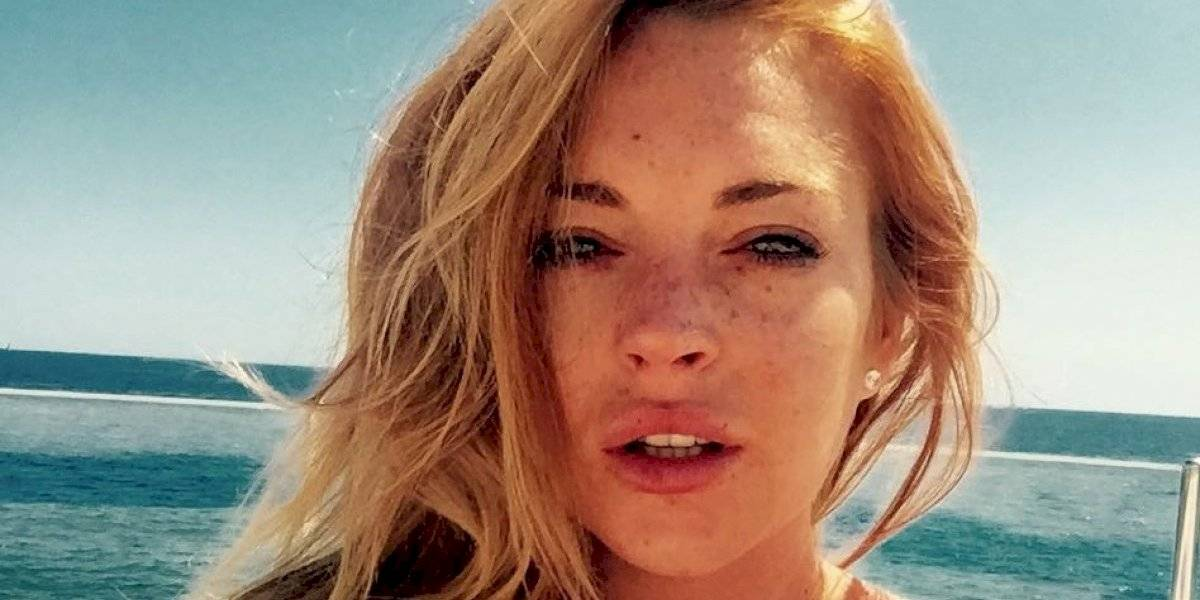 Lindsay Lohan celebra desnuda su cumpleaños 33