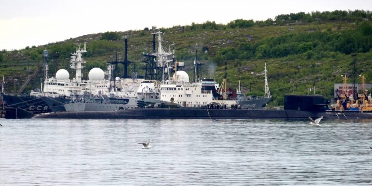 Tragedia en Rusia: 14 marinos mueren por incendio en submarino