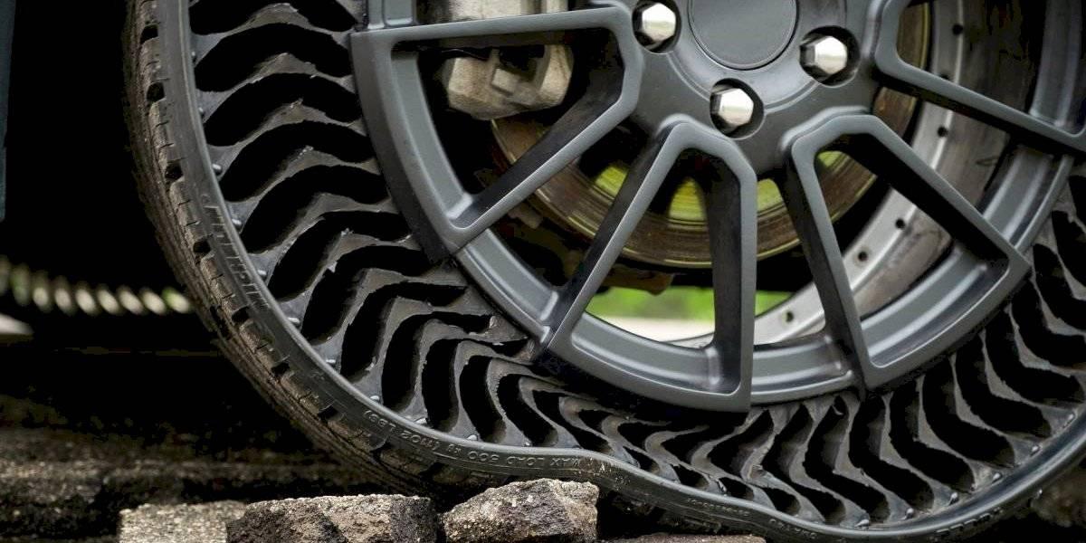 Uptis, la apuesta sin aire de Michelin y GM que quiere revolucionar los neumáticos