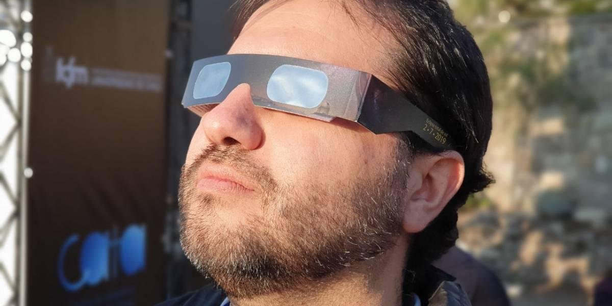 ASÍ se vivió el Eclipse Solar en Santiago de Chile, la ciudad del 92%