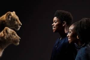 Simba e Nala jovens O Rei Leão