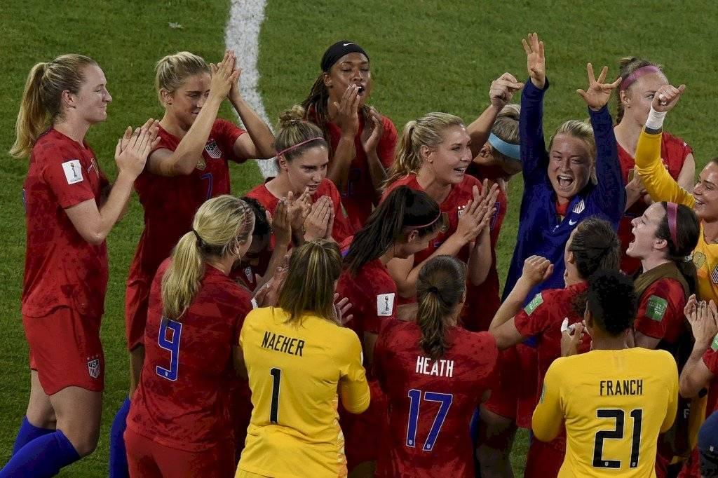 Resultado Inglaterra vs Estados Unidos Mundial Femenino Alex Morgan