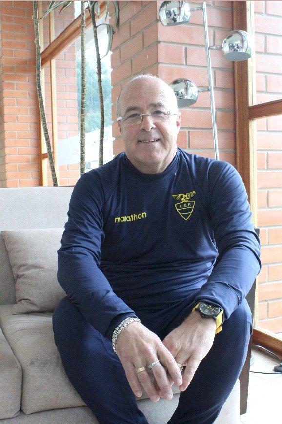 Jorge Célico desde la Casa de la Selección Metro Ecuador/ Oscar Ayo