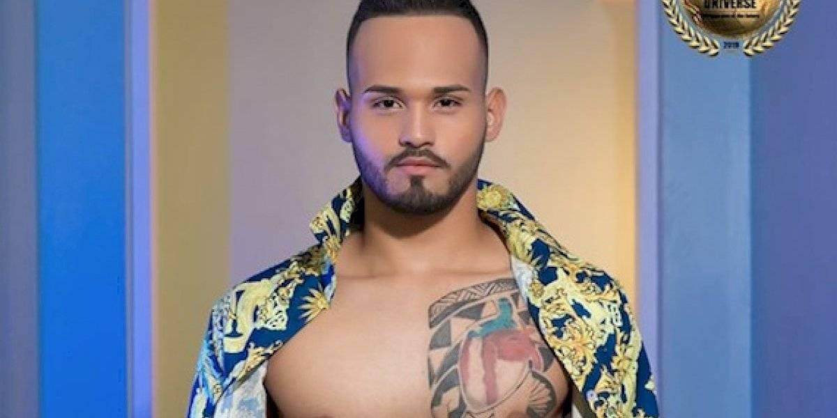 Joven boricua entre los 10 más bellos de Mister National Universe 2019