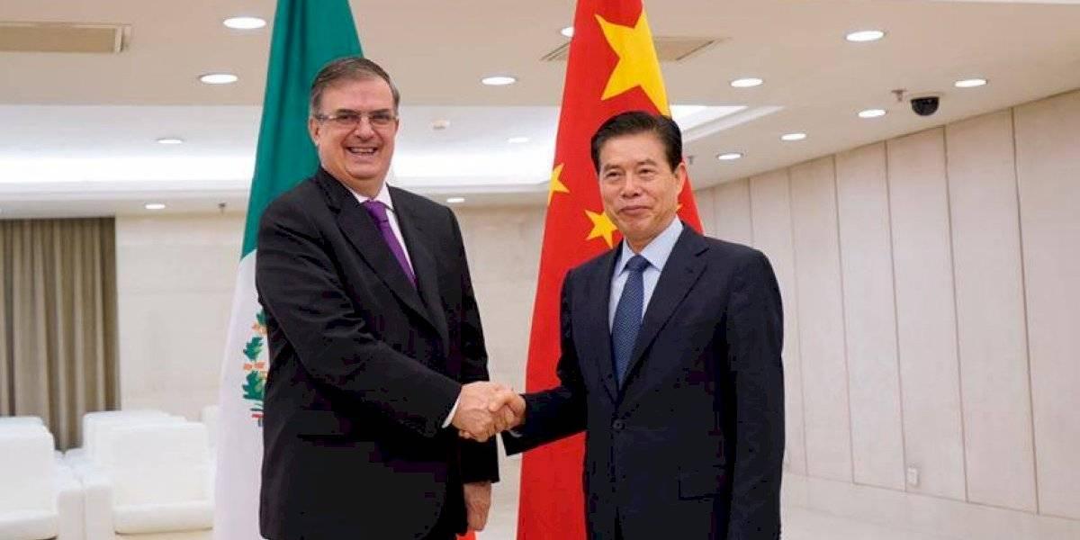 México y China acuerdan reforzar las relaciones económicas