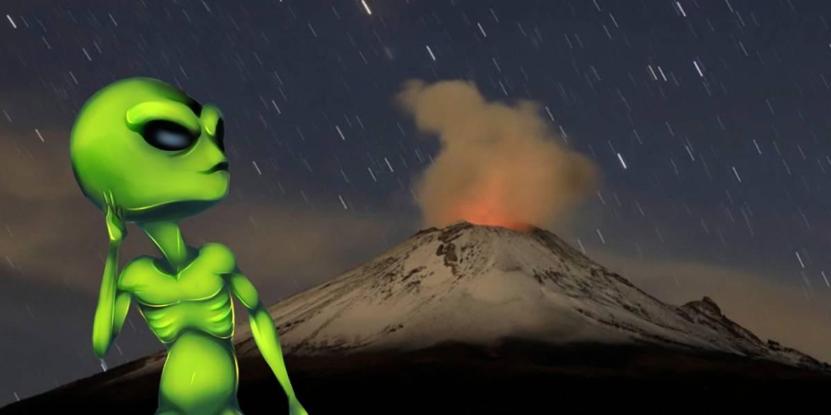 Prepárate para vivir una noche de OVNIS en el Popocatépetl