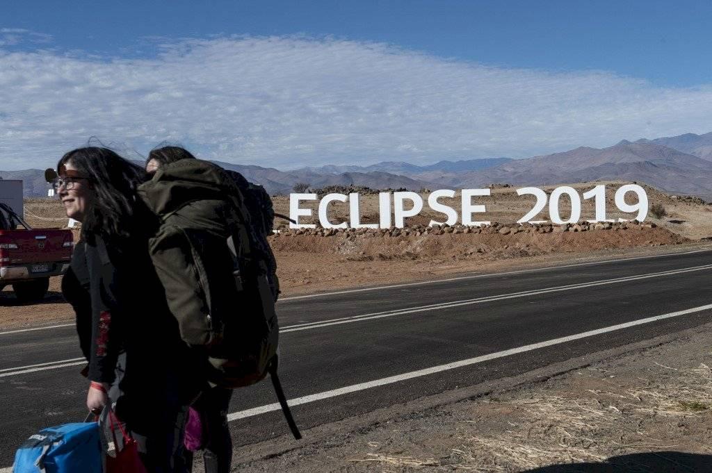 Chile espera el eclipse solar total