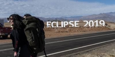 Chile espera el eclipse solar total