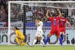 Estados Unidos vs Inglaterra