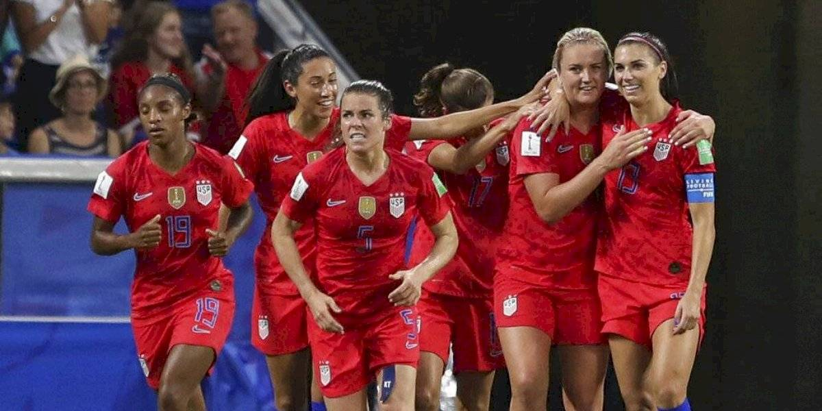 Estados Unidos se impone sobre Inglaterra y disputará la final del Mundial femenino