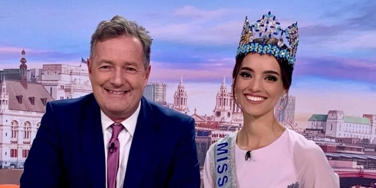 Miss Mundo mexicana causa controversia en programa británico