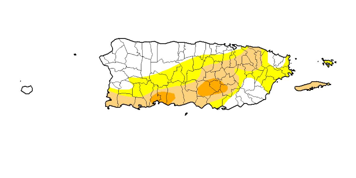 Diez municipios alcanzan nivel de sequía severa